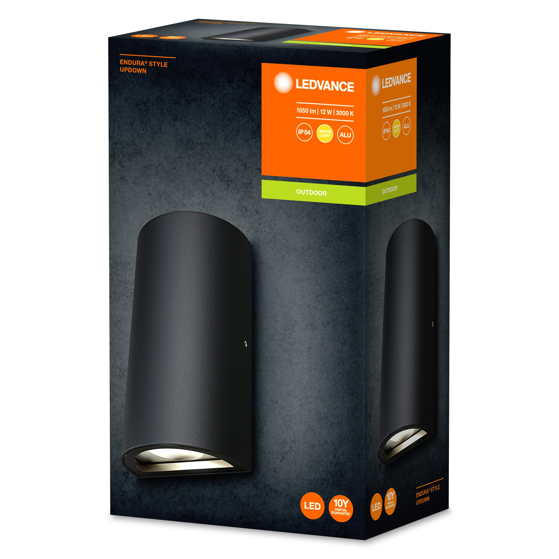OSRAM ENDURA STYLE LED Outdoor UpDown 12 W DG Wandlampe
